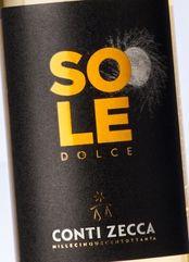 Conti Zecca Malvasia del Salento Sole 2017 (0.5 l)