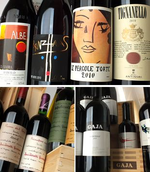 More than 3,000 Italian wines available online
