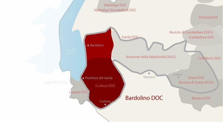 Mappa vini Bardolino