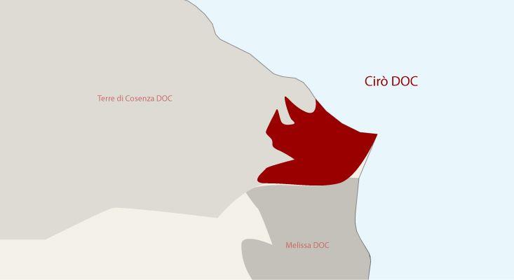 Mappa vini Cirò