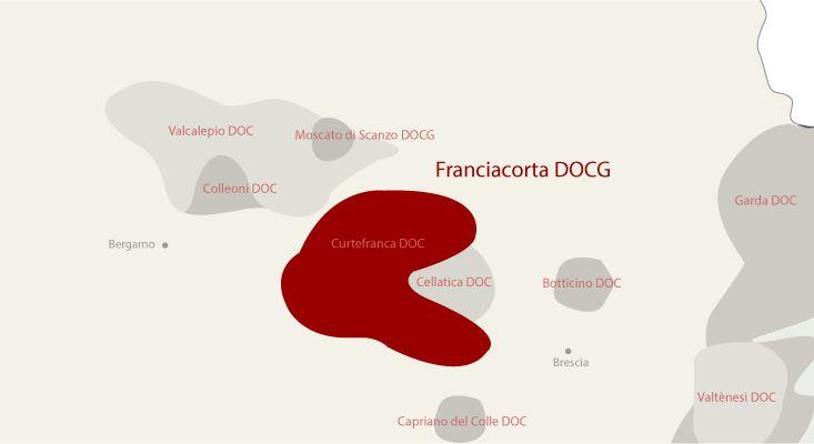 Carte vins Franciacorta