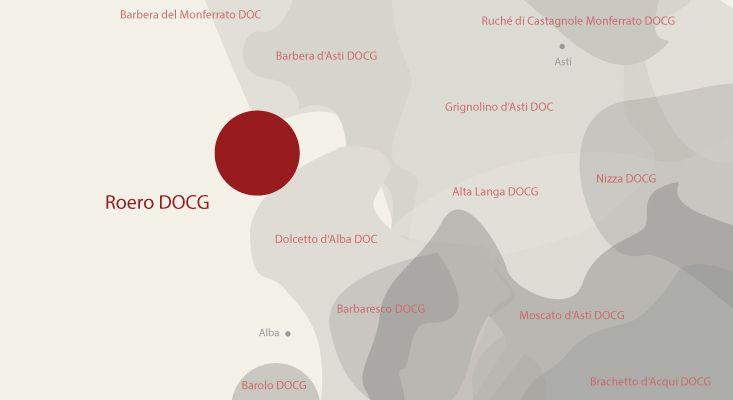 Mappa vini Roero