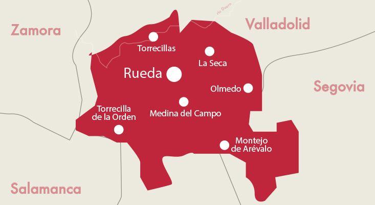 Karte Weine Rueda
