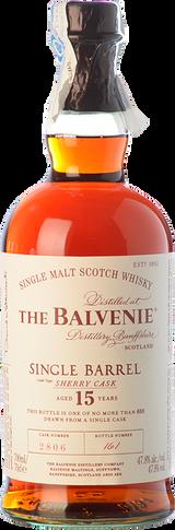 The Balvenie 15 Single Barrel
