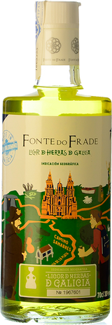 Fonte do Frade Licor de Hierbas de Galicia