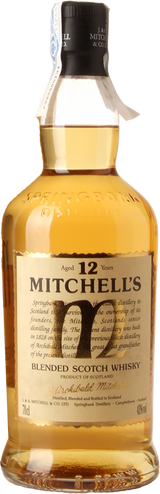 Mitchell's Blended Scotch Whisky 12 Years