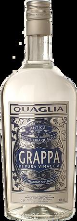 Antica Distilleria Quaglia Grappa di Pura Vinaccia (1 L)