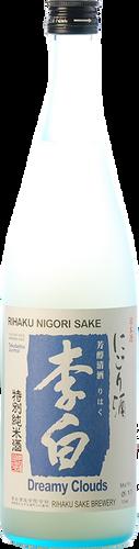 Riahaku Nigori Dreamy Clouds Sake (0,72 L)