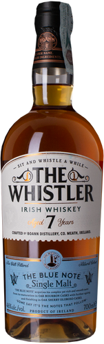 The Whistler Irish Whiskey 7 Years Blue Note