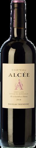 Château Alcée Castillon Côtes de Bordeaux 2018