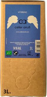 Celler Arrufí Blanc 2018 (Bag in box 3L)