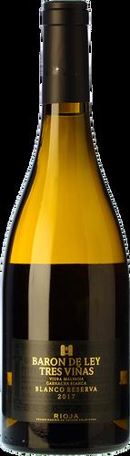 Barón de Ley 3 Viñas Blanco Reserva 2017