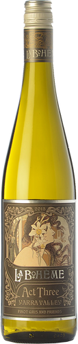 De Bortoli La Bohème III Pinot Gris 2015