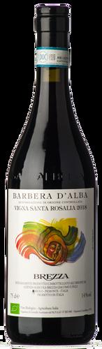 Brezza Barbera d'Alba Vigna Santa Rosalia 2019