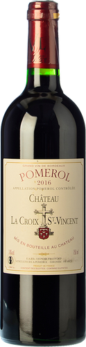 Château La Croix St Vincent Pomerol 2016