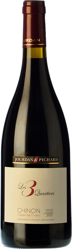 Jourdan & Pichard Chinon Les 3 Quartiers 2015