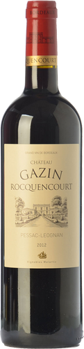 Château Gazin Rocquencourt 2012