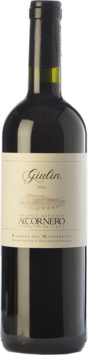 Accornero Barbera del Monferrato Giulin 2016