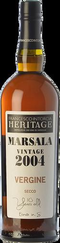 Intorcia Marsala Vergine Heritage 2004