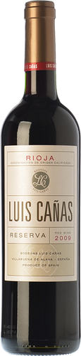 Luis Cañas Reserva 2013