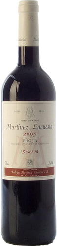 Martínez Lacuesta Reserva 2005