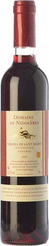 Verema de Sant Martí Vinya Roja 2005 (0,5 L)