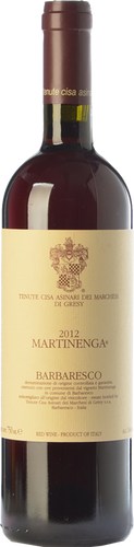 Marchesi di Grésy Barbaresco Martinenga 2014