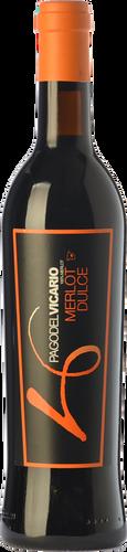 Pago del Vicario Merlot Dulce 2016 (0,5 L)
