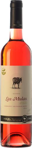 Las Mulas Cabernet Sauvignon Rosé Organic 2018