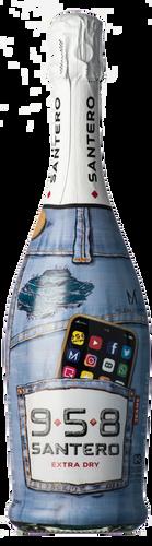Santero 958 Extradry Blue Jeans Milena Andrade