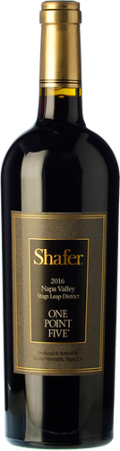 Shafer Cabernet Sauvignon One Point Five 2016