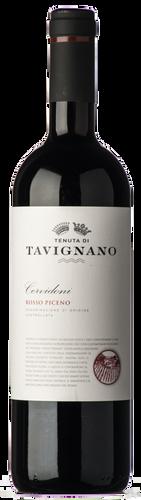 Tavignano Rosso Piceno Cervidoni 2018