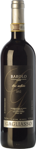 Gagliasso Barolo Tre Utin 2016