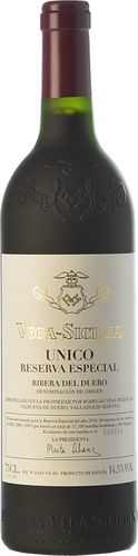 Vega Sicilia Único Reserva Especial - Edición 2018