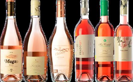 Artists of rosé wine