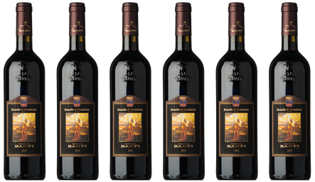 Box Brunello Banfi 6 Flaschen