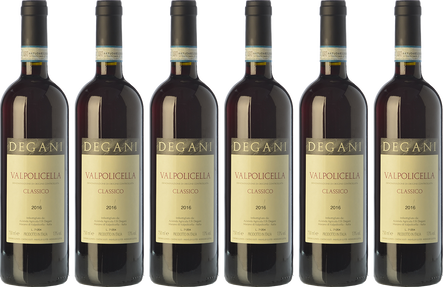 Box Degani Valpolicella 6 bouteilles
