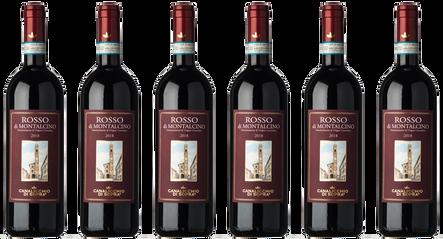 Box Montalcino Canalicchio di Sopra 6 bouteilles