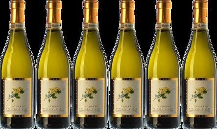 Box Moscato d'Asti La Spinetta 6 bottles