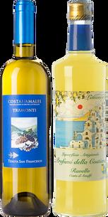 Cena... ¡y sobremesa! Costa de Amalfi y limones