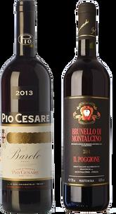 Dos campeones del Piamonte y la Toscana