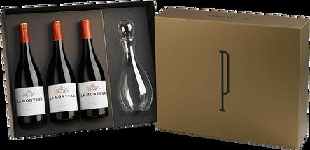 3 La Montesa Gift Box + Decanter