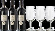 3 Carmelo Rodero Reserva + 3 FREE wine glasses