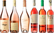 Artists of rosé wine