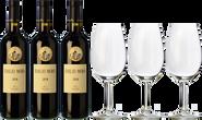 Emilio Moro + 3 FREE wine glasses