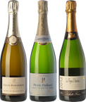 The three classic Champagne grapes