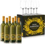 6 Pazo Barrantes + 6 Schott Zwiesel glasses FREE